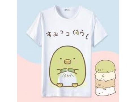 Áo shirts ngắn tay hình chữ T : 티셔츠